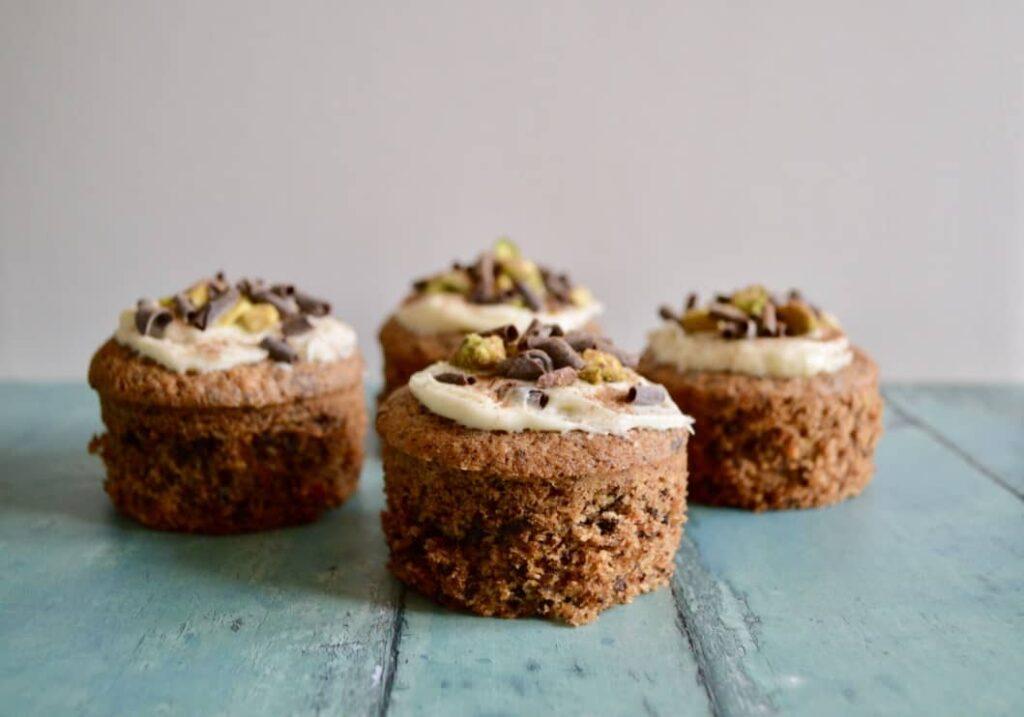 Gluten and Dairy Free Mini Pistachio Cakes