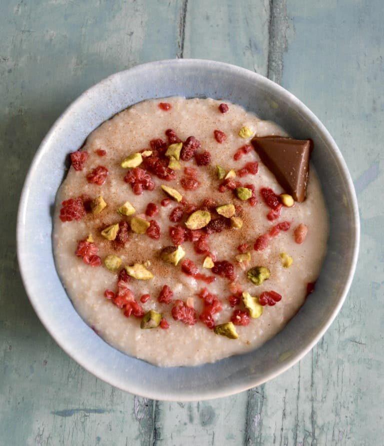 Pistachio Porridge