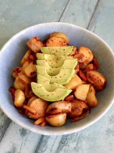 Potato & Chicken Sausage Hash