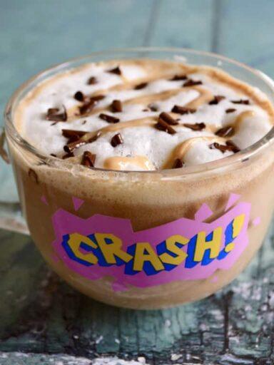 peanut butter latte