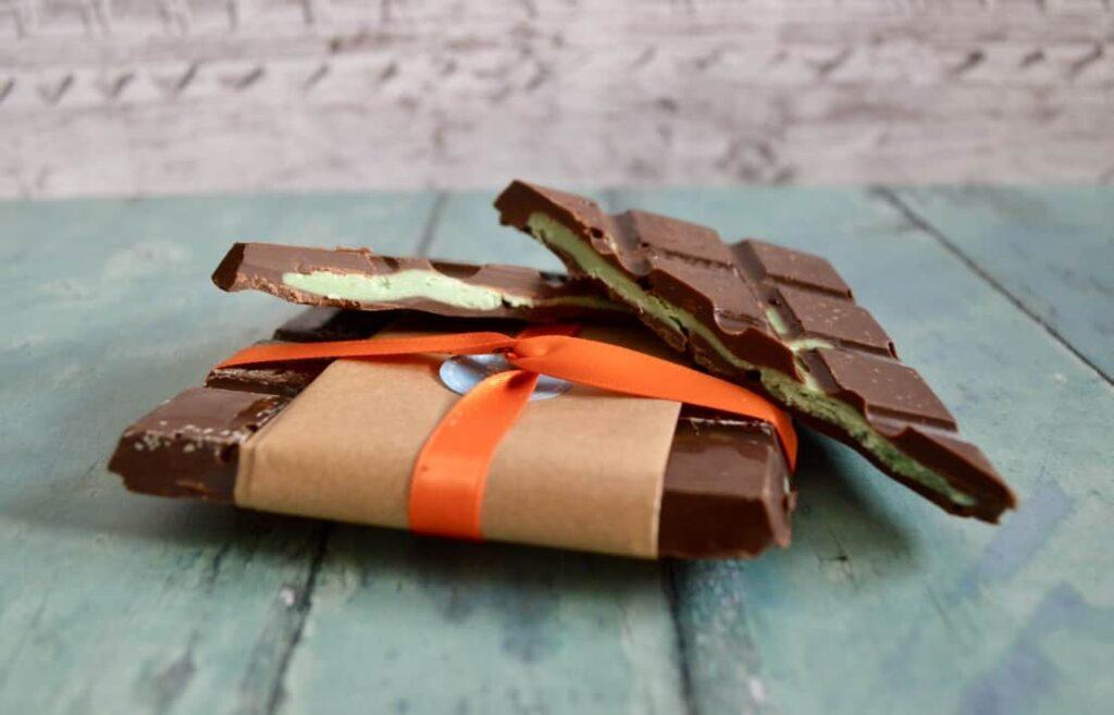 Gluten and Dairy Free Mint Fondant Chocolate