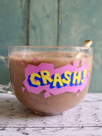 choc peppermint smoothie