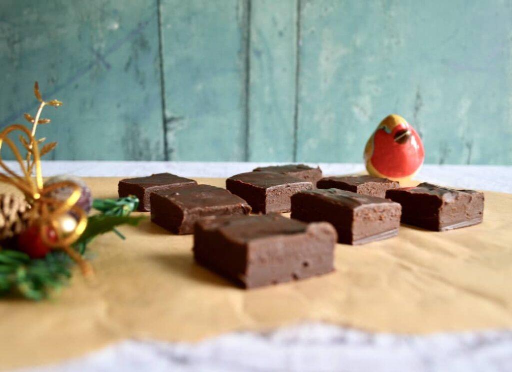 Gluten and Dairy Free Brandy Butter Chocolate Fudge