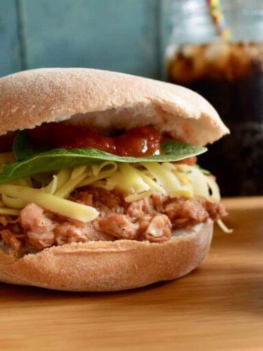 Vegan BBQ Jackfruit Buns