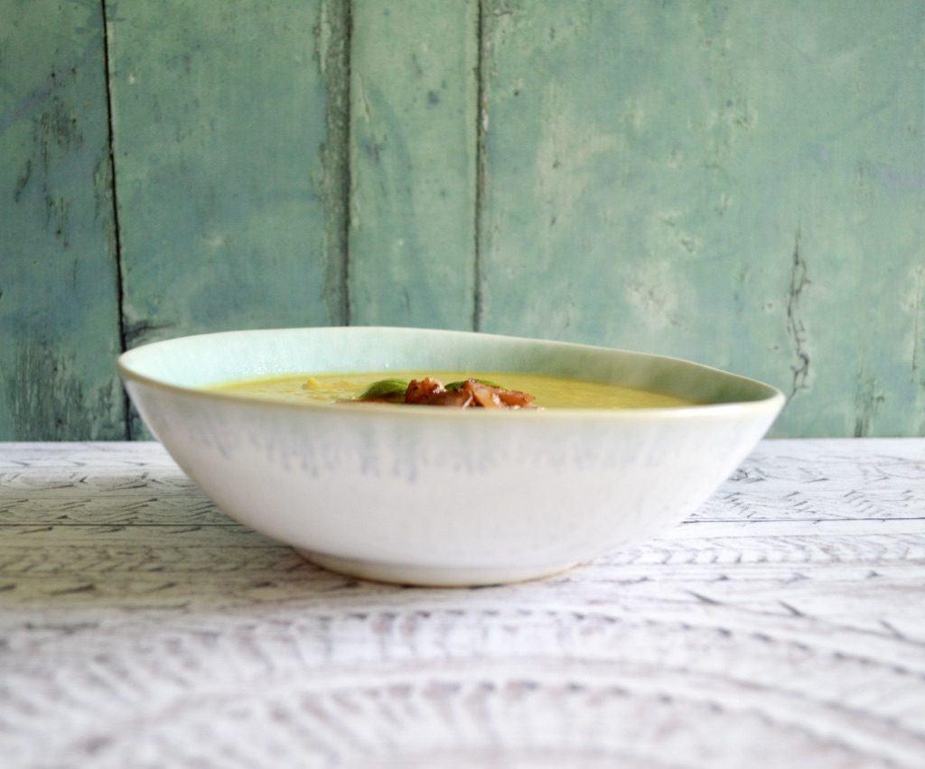 butternut bacon soup