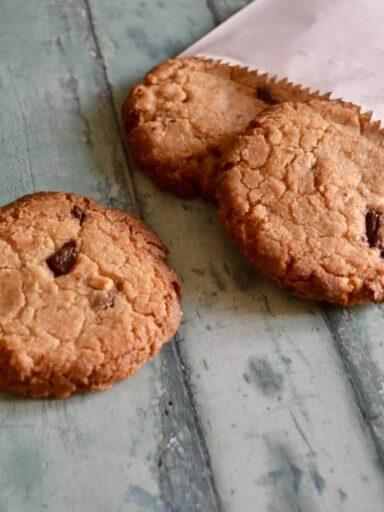 pb choc cookies