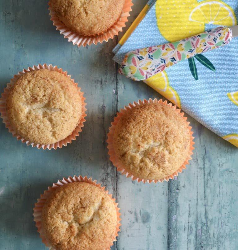 spiced mango muffins