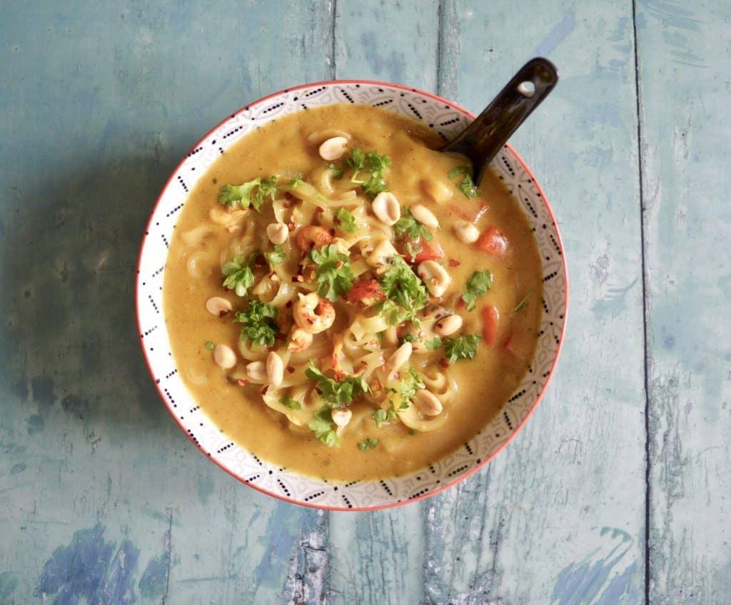 crayfish noodle soup