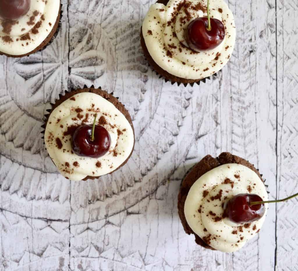 blackforest cupcakes