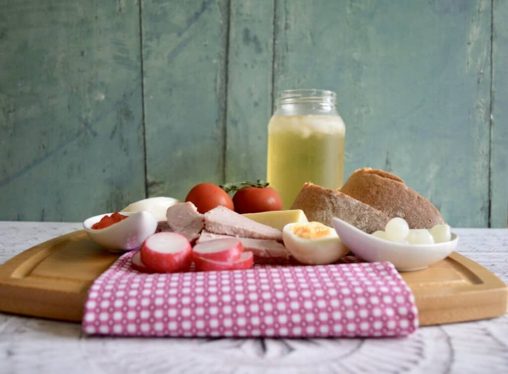 Gluten & Dairy Free Ploughman's Lunch