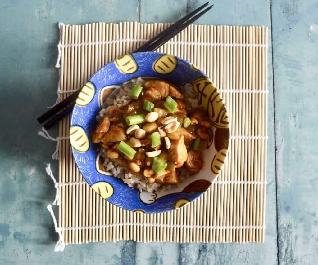 Gluten and Dairy Free Kung Pao Chicken