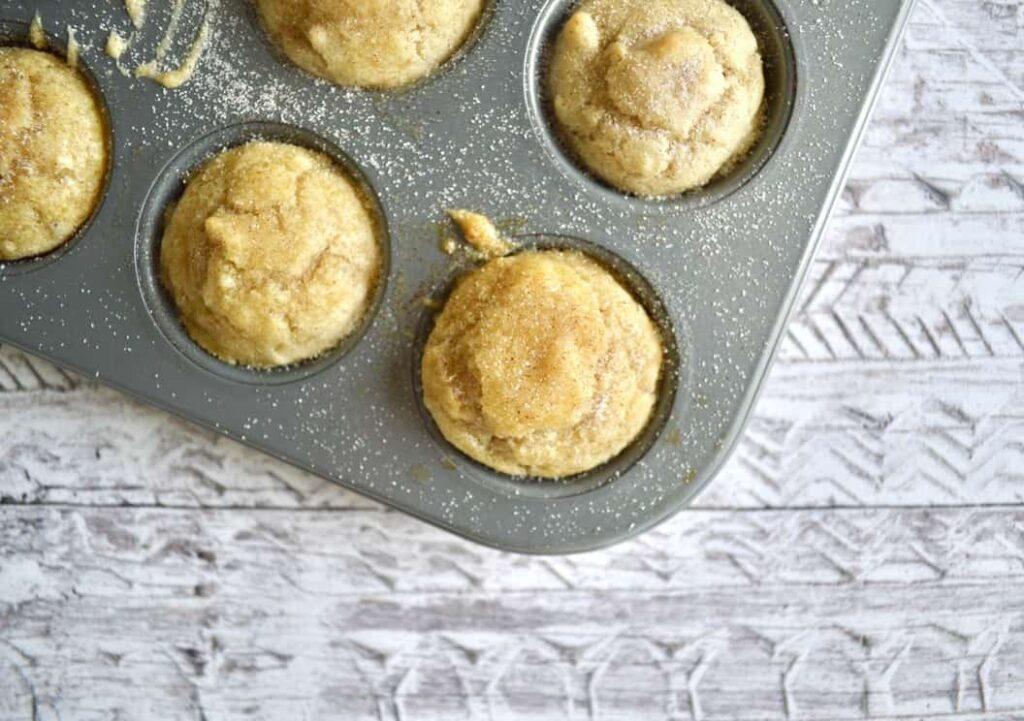 Gluten and Dairy Free Mini Cinnamon Sugar Muffins