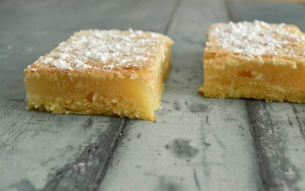 Gluten and Dairy Free Lemon Bars