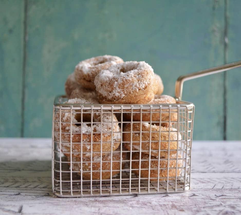 Gluten and Dairy Free Mini Banana Bread Donuts