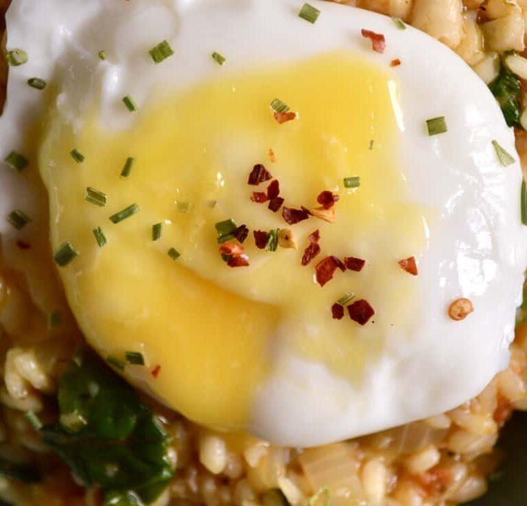 haddock chorizo risotto