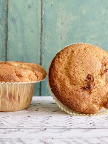 cherry apple muffins