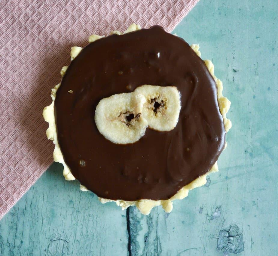 Gluten and Dairy Free Chocolate Banana Cream Pie