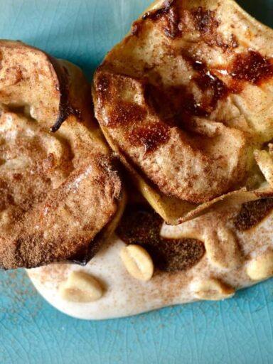 maple baked apples