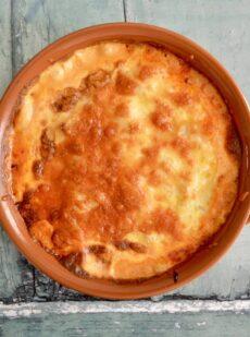 Gluten Free Dairy Free Pulled Pork Potato Bake Dinner Recipe