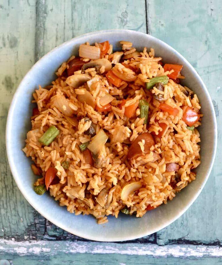 Louisiana Rice Gluten Free and Dairy Free Recipe