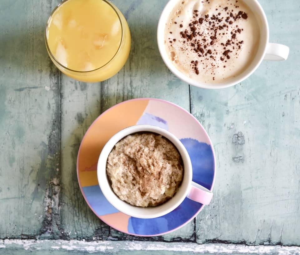 banana bread muffin mug