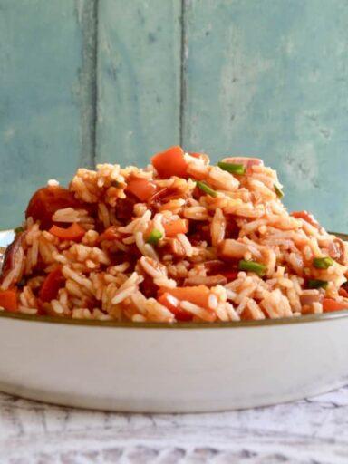 mexican pork rice