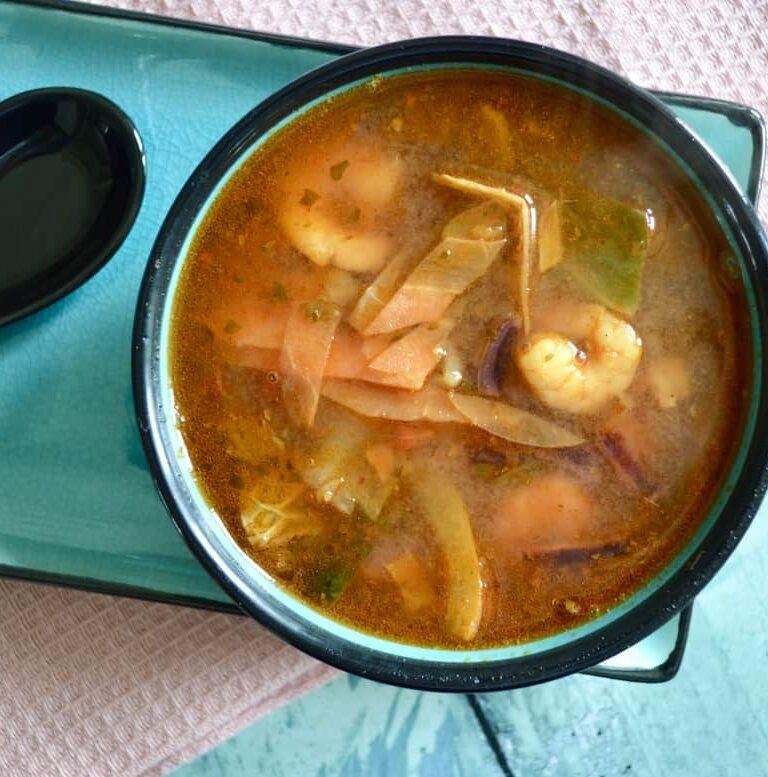 prawn tom yum soup