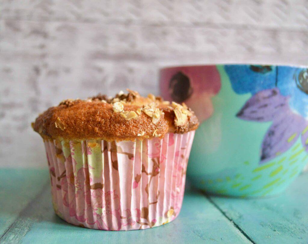 apple oat muffin