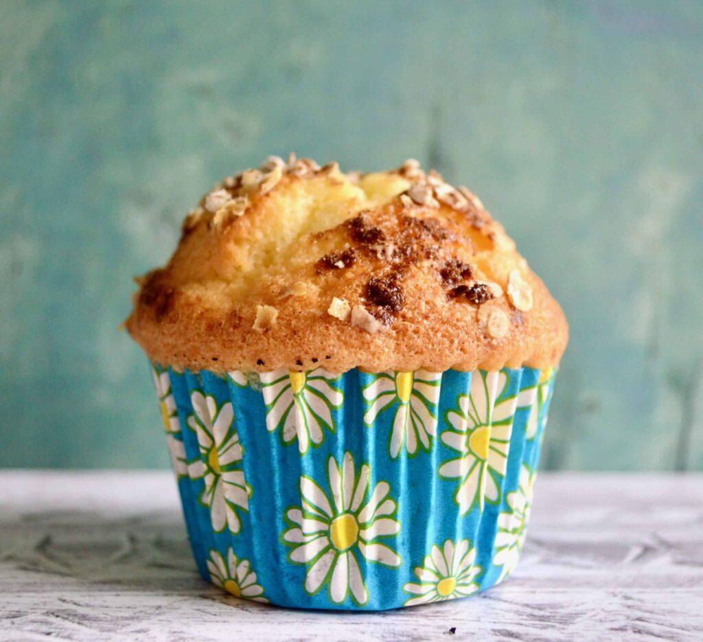 bluberry lemon oat muffins 2