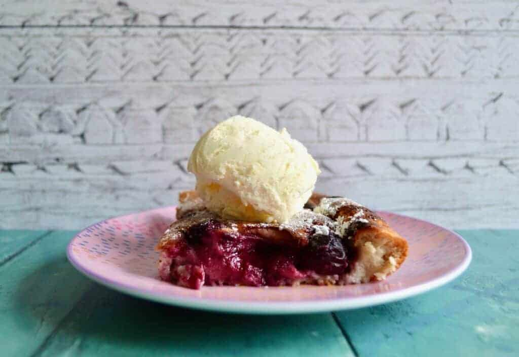 Gluten and Dairy Free Clafoutis