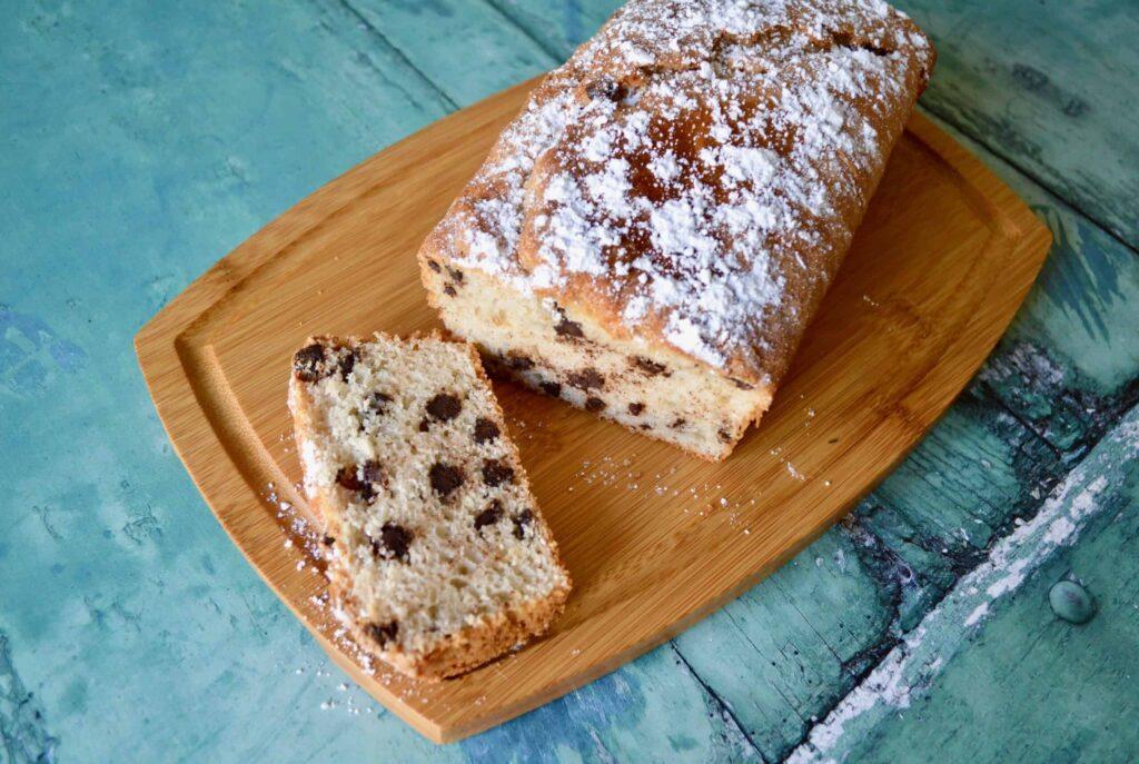 choc chip muffin loaf