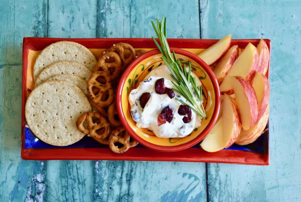 cranberry cheese dip