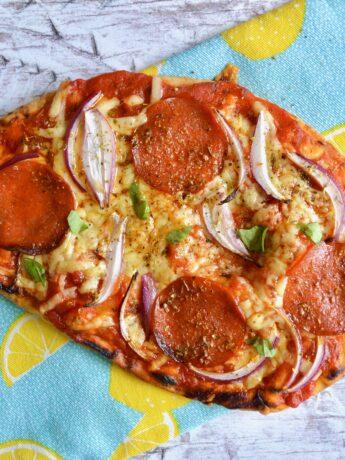 naan bread pizza