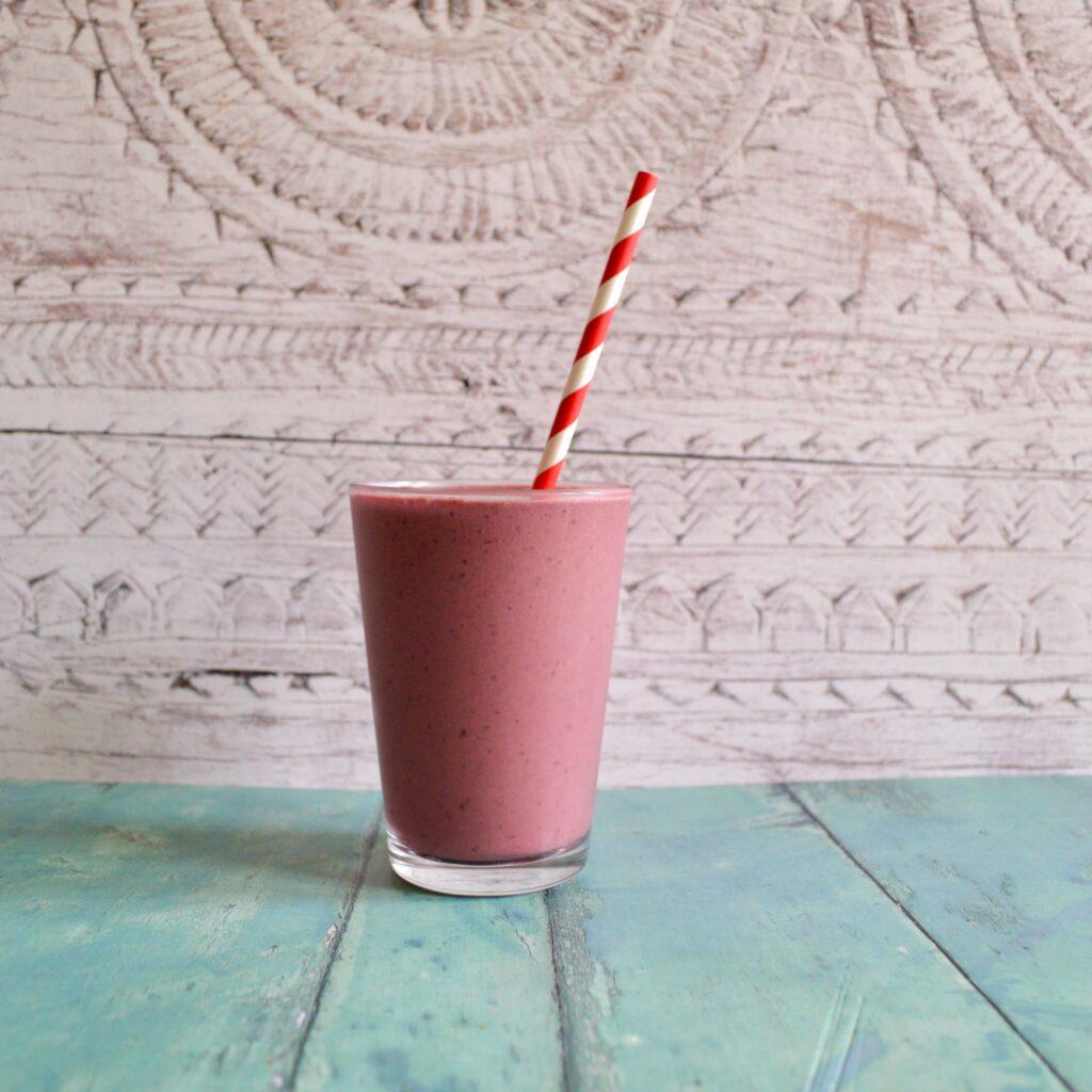 cherry chocolate smoothie